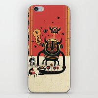 insect iPhone & iPod Skins featuring Insect catcher by Exit Man
