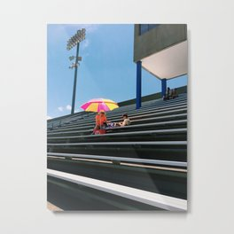 A Mass of Seats Metal Print