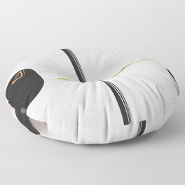 Space Time Floor Pillow