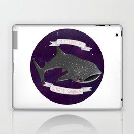 I Love Whale Sharks V. 2 Laptop & iPad Skin
