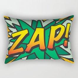 Comic Book ZAP! Rectangular Pillow