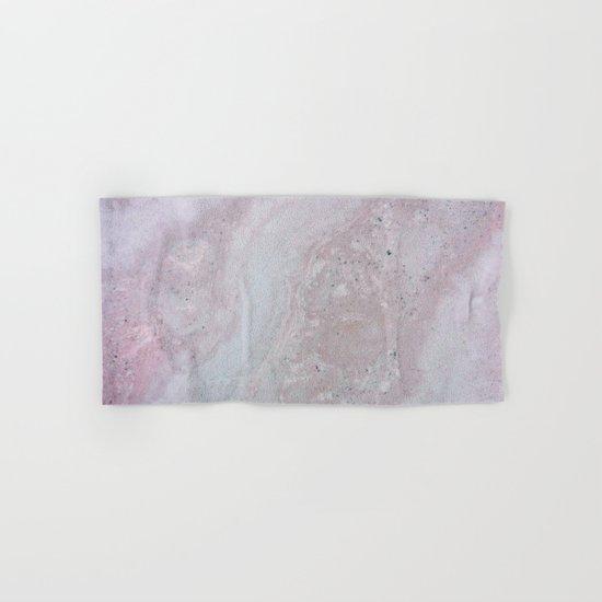 Elegant Pink Polished Marble Hand & Bath Towel
