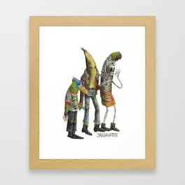 The Holy Trinity of JaxDav Framed Art Print
