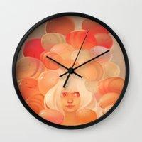 loish Wall Clocks featuring Glow by loish