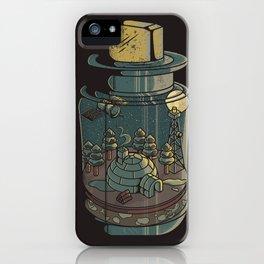 Tiny World III iPhone Case