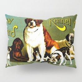 New England Dog Show 1890 Pillow Sham