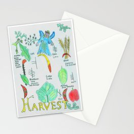 Harvest Energy Stationery Cards