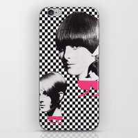 60s iPhone & iPod Skins featuring 60s by Luca Mainini