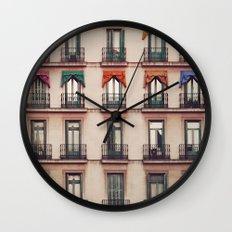 Balconies Wall Clock