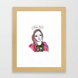 Marina- SuperFriends Collection Framed Art Print