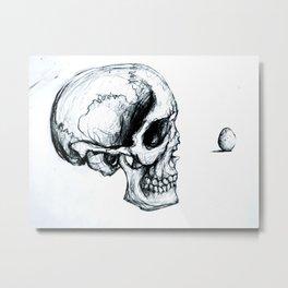 """Skull I"" Metal Print"