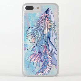 Journeying Spirit (Shark) Clear iPhone Case