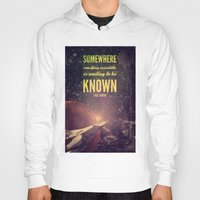sagan Hoodies featuring Space Exploration (Carl Sagan Quote) by taudalpoiart