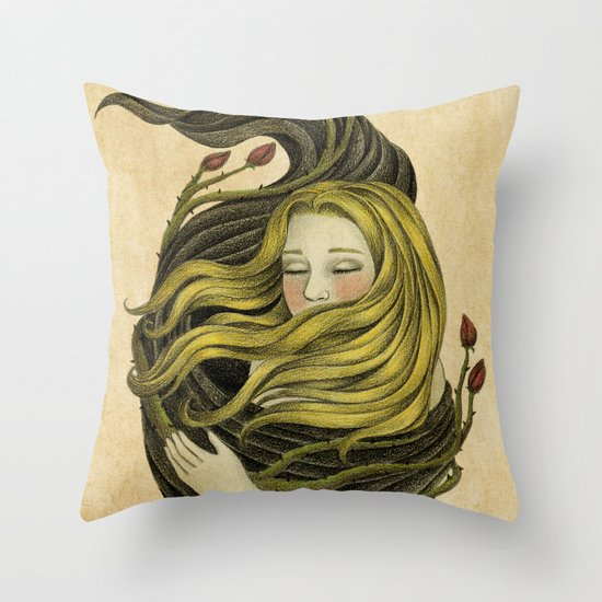 An Embrace Throw Pillow
