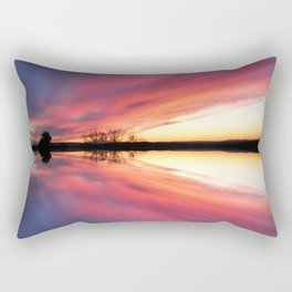 Reflecting Sunset - 8 Rectangular Pillow