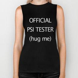 PSI Tester - shirt Biker Tank