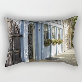 Charleston SC No. 4  Rainbow Row Rectangular Pillow
