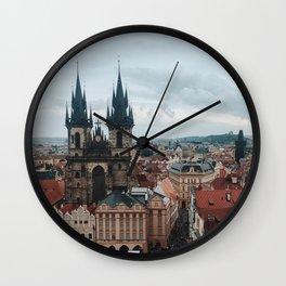 Prague, Czech Republic Wall Clock