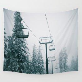 Ski Lift II Wall Tapestry