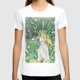 Art Nouveau Absinthe Poster T-shirt