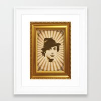 rocky Framed Art Prints featuring Rocky by Durro