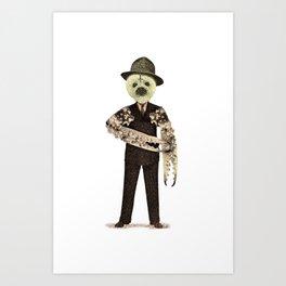 Evil Manager Art Print
