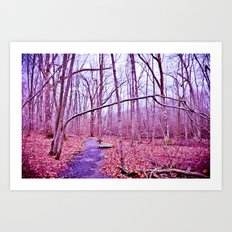 Genuflection Art Print