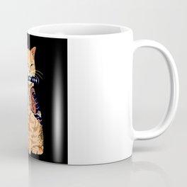 cat samurai Coffee Mug