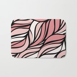 Coral seawing Bath Mat