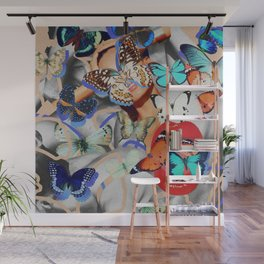 Fluttering Feelings Wall Mural