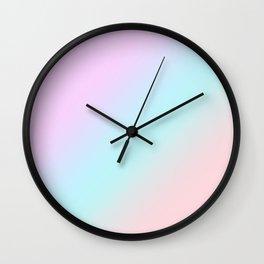 Ombre. Gradient. Wall Clock