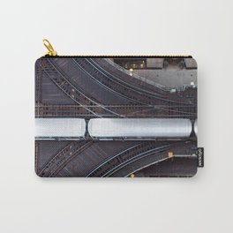Chicago El Train Going Downtown Carry-All Pouch