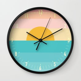 sunrise /sunset Wall Clock