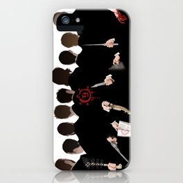 We're All Enemies Here (BACKS ONLY) iPhone Case