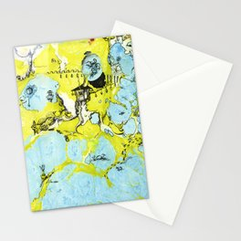 #100 The Map Room Stationery Cards