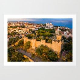 São Jorge Castle, Lisbon Art Print