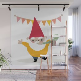 Party Gnome Wall Mural