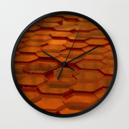 Sweet as honey Wall Clock