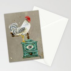 Rooster Wallace 2 Stationery Cards