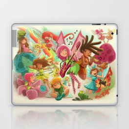 Goblins Drool, Fairies Rule! - Team Fairy Laptop & iPad Skin