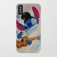 stitch iPhone & iPod Cases featuring Stitch by Goolpia