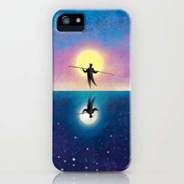 The Tightrope Walker 2 iPhone Case