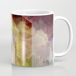 Uruz Rune Digital Art composition Coffee Mug
