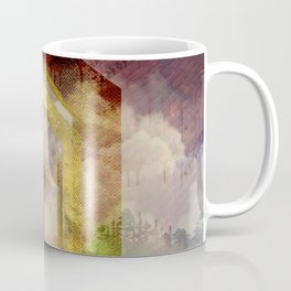 Uruz Rune Digital Art composition Coffee Mug