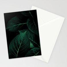 Dark Leaves I Stationery Cards