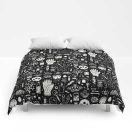 Curiosities: Bone Black Comforters