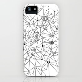 Interconnections iPhone Case