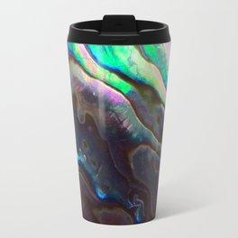 Pearlescent Abalone Shell Travel Mug