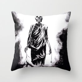 Welcoming Death Throw Pillow