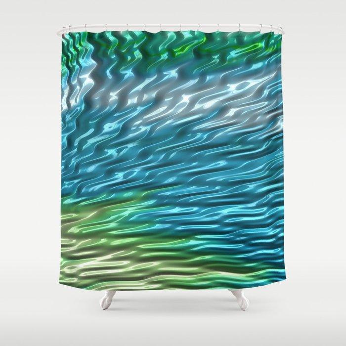 Squalling Harpoon Fractal Design 7 Shower Curtain